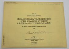1985 Gms-39 Geologic Bibliography & Index Maps of Oregon Ocean Floor (Rf832)
