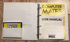 Vintage 1986 Computer Mates By Microsoft MSX Rom Cartridge  RARE Original Box