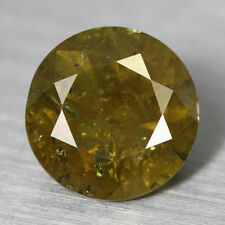 Round Loose Demantoid Garnets
