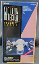 Woods Outdoor Security Motion Detector Security Light White # 23195