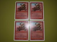 Goblin Chariot x4 - Starter 1999 - Magic the Gathering MTG 4x Playset