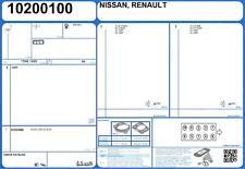 Full Engine Gasket Set RENAULT LAGUNA III GRANDTOUR DCI 2.0 150 M9R-814 10/07-