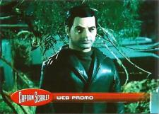Captain Scarlet Promo Trading Card WEB1 Web Exclusive from Unstoppable Cards