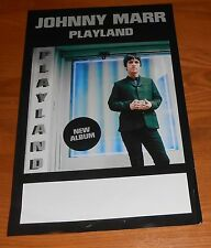Johnny Marr Playland Poster Original Tour Promo 11x17 (The Smiths)