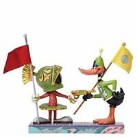 "Looney Tunes MARVIN THE MARTIAN & DAFFY DUCK ""I Claim This Planet"" RESIN figure"