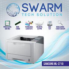 Stampante Samsung ML-3710 LASER A4 B/N FRONTE/RETRO 35ppm Garanzia 12 MESI