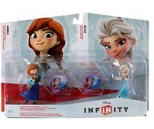 Disney Infinity Figures 1.0  2.0  3.0 Girls Frozen  Toy Box Set  Anna & Elsa New