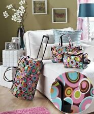 3 Piece Luggage Sets Travel Duffel Bag With Wheels Tote Bag Suitcase For Women