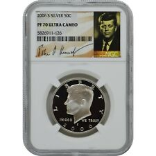 1999-S SILVER KENNEDY 50C NGC PF70 ULTRA CAMEO PORTRAIT LABEL!