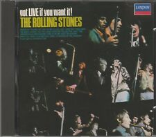 The Rolling Stones-Got live if you want it, CD