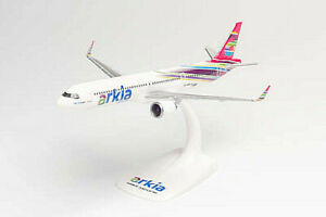 Model aircraft vehicles Herpa Airbus A321LR Arkia Israeli Airlines CM 22
