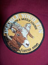 Thompson Center Arms Muzzleloading Patch Ram Sheep Goat Gun Rifle Cap Hat Jacket