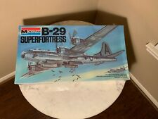 Vintage Monogram 1/48 B-29 Superfortress Sealed  NOS NEW