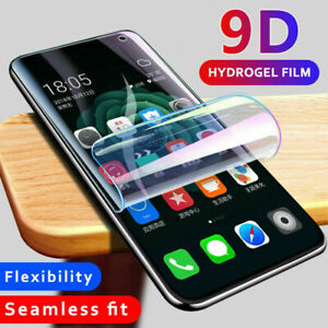 For Samsung Galaxy S8+ S9+ S10 S10e 3D Hydrogel Protective Film Screen Protector