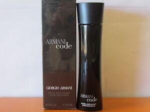 Armani Code By Giorgio Armani After Shave Balm 3.4 oz Splash  NIB Sealed.