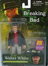 WALTER WHITE Heisenberg  BREAKING BAD-  Action Figure Exclusive Red Shirt Mezco