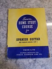 Vintage Sears Home Study Course For Spanish Guitar 60 Complete Lessons Part 1