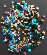 Perles en cristal et verre taillé