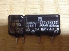 10pcs NEW Panasonic AQB2A1-ZT7/14VDC ZIP-4 SIP 4Pin SSR NIB