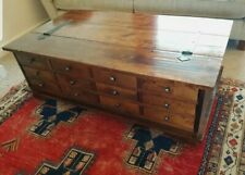 Laura Ashley Garrat Chestnut 12 drawer coffee table trunk storage Unit ST15