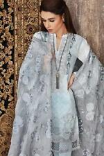 New Gul Ahmed embroidered cotton chiffon Salwar Kameez