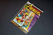 1972 99 fn/vf Smith c/a Wasp Hawkeye Bag+B Avengers [ Ship 80 Comics: $13! ]