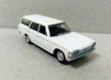 Tomytec 1/80 HO scale model car 80s-Toyota Crown Wagon White