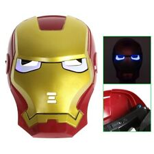 MASCHERA  LED Iron Man Mask for Halloween Masquerade Cosplay  REALIZZATA IN PVC