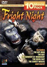 Fright Night 10 Movie Pack (DVD, 2005, 2-Disc Set)
