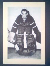 JACQUES PLANTE (MONTREAL CANADIENS) '44-63 BEEHIVE GROUP II PHOTO