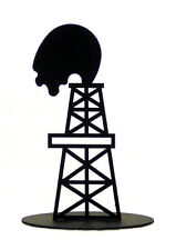 Oil Derrick Centerpiece Table Decor Cake Decoration 7 inch