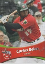 2016 Fort Wayne Tin Caps Carlos Belen RC Rookie Padres Minor