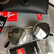 New Authentic Ray-Ban RB3447 Round Metal