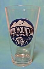 Blue Mountain Brewery Virginia Pint Beer Glass