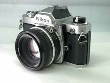 【As-is】 Nikon FM 35mm Film Camera w/ AI Nikkor 50mm f/1.8 Lens from JAPAN