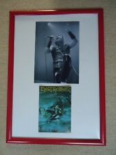 More details for iron maiden christmas card 2005 faux signed vintage+ iron maiden photo image gem