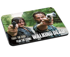Fight The Dead, Fear The Living, Rick & Daryl Walking Dead Mouse Mat