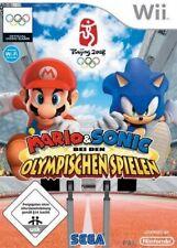 Nintendo Wii +Wii U MARIO UND SONIC BEI DEN OLYMPISCHEN SOMMER SPIELEN Neuwertig