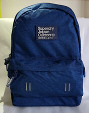 SUPERDRY 2018 Real Montana Blue Backpack LAPTOP School Gym Work Rucksack SALE!