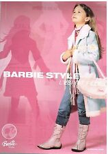 Publicité Advertising 2004 Les vetements pour enfants Barbie
