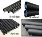 1-10pcs 3k Carbon Fiber Tube 21 22mm 23 24mm 25 26mm 27 28mm 29 30mm X 1000mm