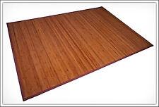 Bambus Teppich 230 x 160 cm - 17mm Bambusbreite - Bambusteppich Badteppich Matte