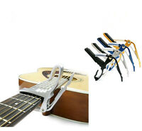 Folk Electric Acoustic Capo ,Quick Tune Change Guitar Capo Clamp Key Trigger