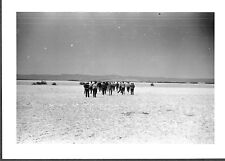 VINTAGE PHOTOGRAPH '39 FORESTRY STUDENTS GREAT DRY LAKE ALBERT CALIFORNIA PHOTO