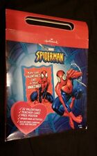 Marvel Spider-man Valentine cards Classroom pack 33 count Poster Carry Box