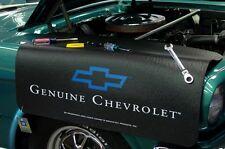 Chevy Black Genuine car mechanics fender cover paint protector vintage style