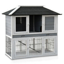 Hasenstall 034 Stadtvilla Kaninchenstall Hasen Kaninchenkäfig Hasenkäfig Stall