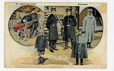 Agents de Police—Rare QUEBEC Occupation CPA Antique PC ca. 1910s