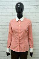 Camicia TOMMY HILFIGER Donna Taglia Size 6 (S) Maglia Shirt Woman Cotone Quadri