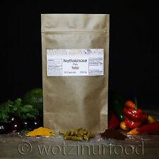 Wotzinurfood Nattokinase + 200mg 4,000FU's Heart Health Genuine Japanese Kraft